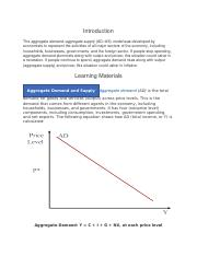 Aggregate Demand, Aggregate Supply, and Macroeconomic Equilibrium.docx