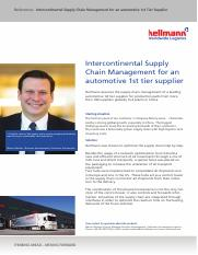 Case Study - Intercontinental Supply Chain Management for an automotive 1st tier supplier.pdf