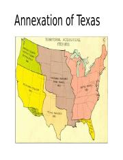 Annexation of Texas.ppt