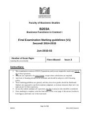 B203A Final Exam MG Second  2014-2015 V1.docx