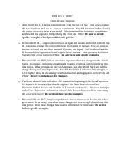 world war ii study resources 1 page exam 2 essay bank