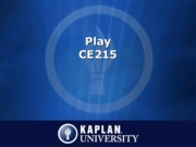 CE215_Unit6_ImportanceOfPlay
