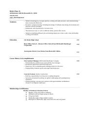 Robert Pope Jr resume