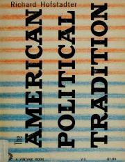 hofstadter1948-american-political-tradition