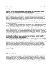 ethics and the environment write up 3 essay