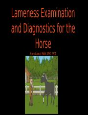 Lameness Examination and Diagnostics for the Horse.pptx