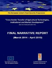 4. ANNEX VI - 2. Final Narrative Report - Cross Border  edited cdw.pdf