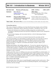 BA 101 Syllabus Wilson Winter 2012(3)