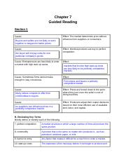 Ch.7 Guided Reading