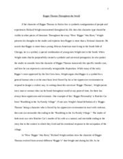 small place essay a small mind at first it seems as if the  6 pages native son essay