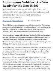 Autonomous Vehicles: Are You Ready for the New Ride? - MIT Technology Review.pdf