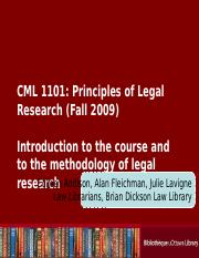 Introduction to course and legal research methodology.ppt