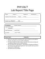 cover pages for reports