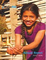 WaterAid Nepal annual report 2013 2014