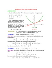 TangentLineApproximations
