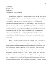 Global issues and society final project.docx