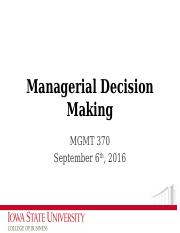 FA16_LEC04_ManagerialDecisionMaking
