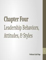 Chapter 04 (Behaviors, Attitudes & Styles - ulearn copy)(1)