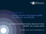 5HR005 Week 2 - Learning and Development - Unlocking human capital 2014-15 - Student slides
