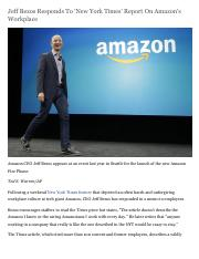 02 - Jeff Bezos Responds To New York Times