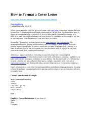 How to Format a Cover Letter.docx