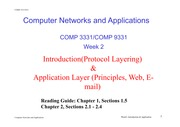 L4 - Application Layer(Principles)