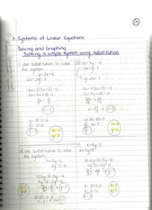 MAT 1033 Systems of Linear Equations