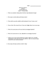 RE Fin -- Quiz 1 -- First Day Quiz -- Fall 2012