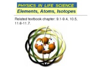 05_A Elements and atoms