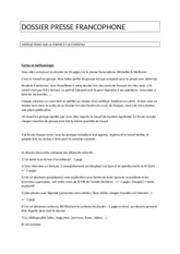 instructions_dossier_de_presse_francophone