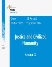 Z00220020220154033Session 07Justice and Civilzed Humanity