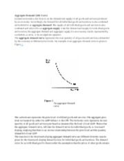 Cliffnotes Aggregate Demand and Supply