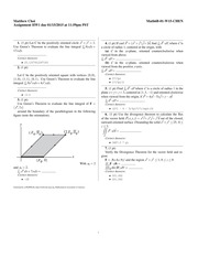Homework 1 Solutions- Sequences
