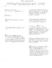 Solving Equations- Worksheet