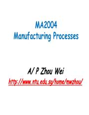 Microelectronics Manufacturing