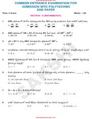 (www.entrance-exam.net)-AP CEEP Polytechnic Entrance Question Sample Paper 3