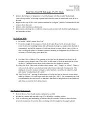 REL 100 book notes on Islam.docx