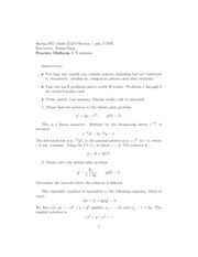 Practice Midterm1 Solutions