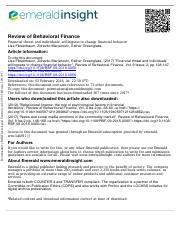 Financial Threat and Individual willingness.pdf