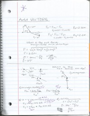 Add Vecctor Notes