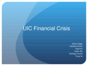 UIC Financial Crisis 2