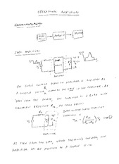 EE 3N03 Operational Amplifiers Notes