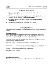 Sight Dist notes 2007