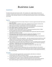 Business law - Legal Issues and Principles.docx