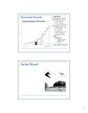 Macroeconomics Week 11 Lecture Slides