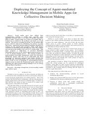 collective decision