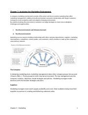 Chapter 3- Analyzing the Marketing Environment .docx
