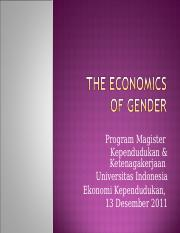 13a_Economics_of_Gender_Gasal2011.ppt