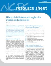 Effects of Abuse and Neglect.pdf