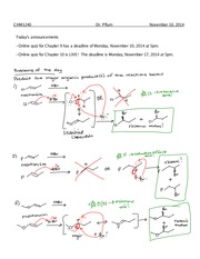 Hydroboration-Oxidation  Notes